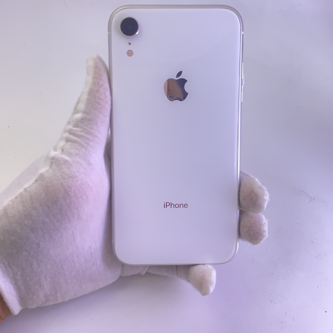 苹果【iPhone XR】4G全网通 白色 128G 国行 95新