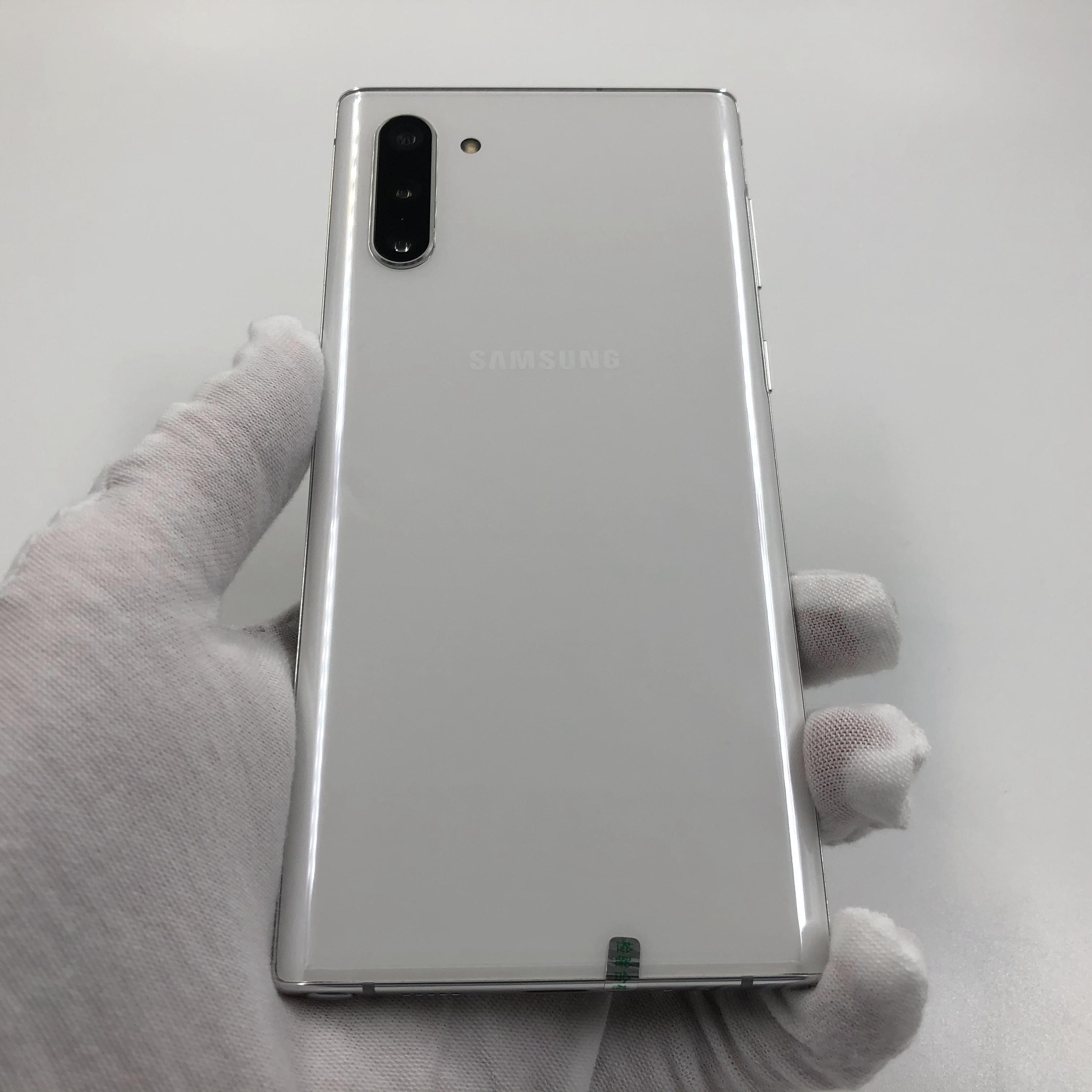 三星【Note10】4G全网通 白色 8G/256G 国行 95新 真机实拍