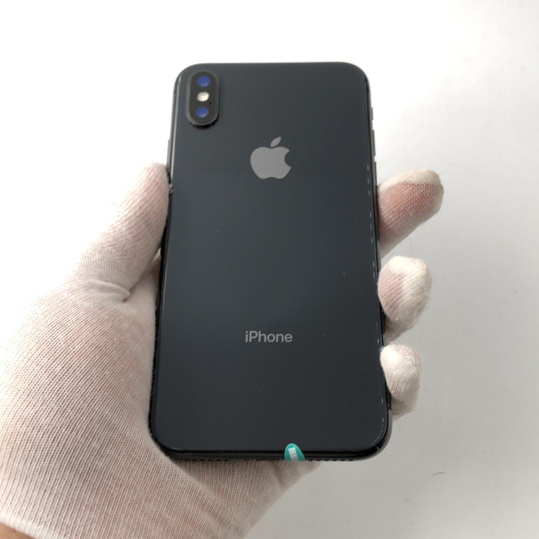 苹果【iPhone X】4G全网通 深空灰 256G 国际版 95新