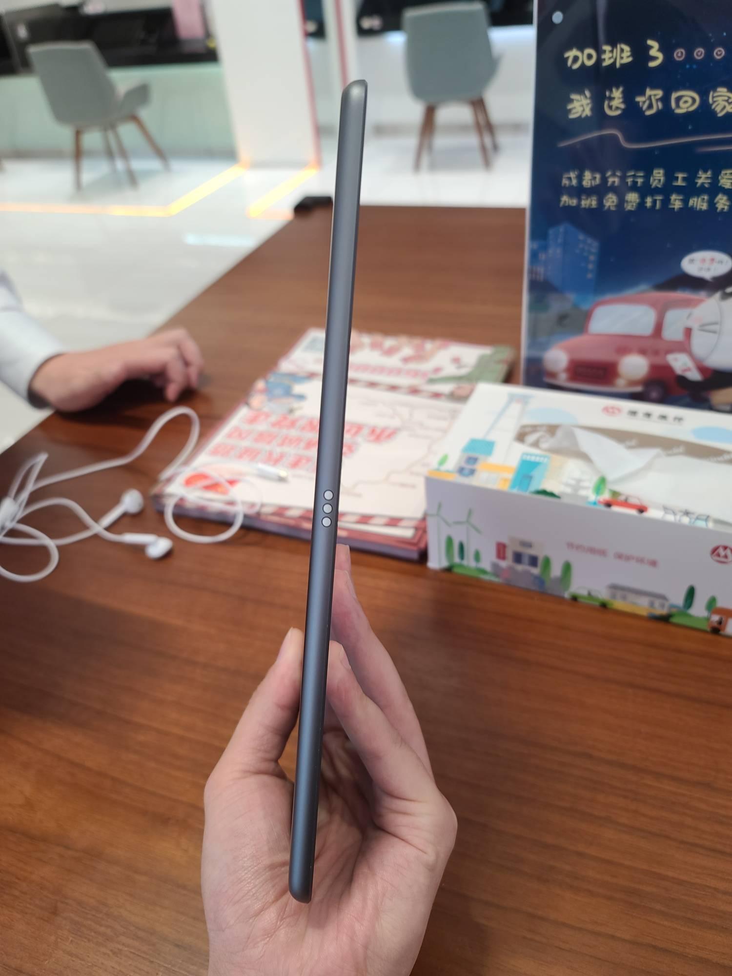 苹果【iPad8 10.2英寸 20款】WIFI版 深空灰 128G 国行 8成新 真机实拍