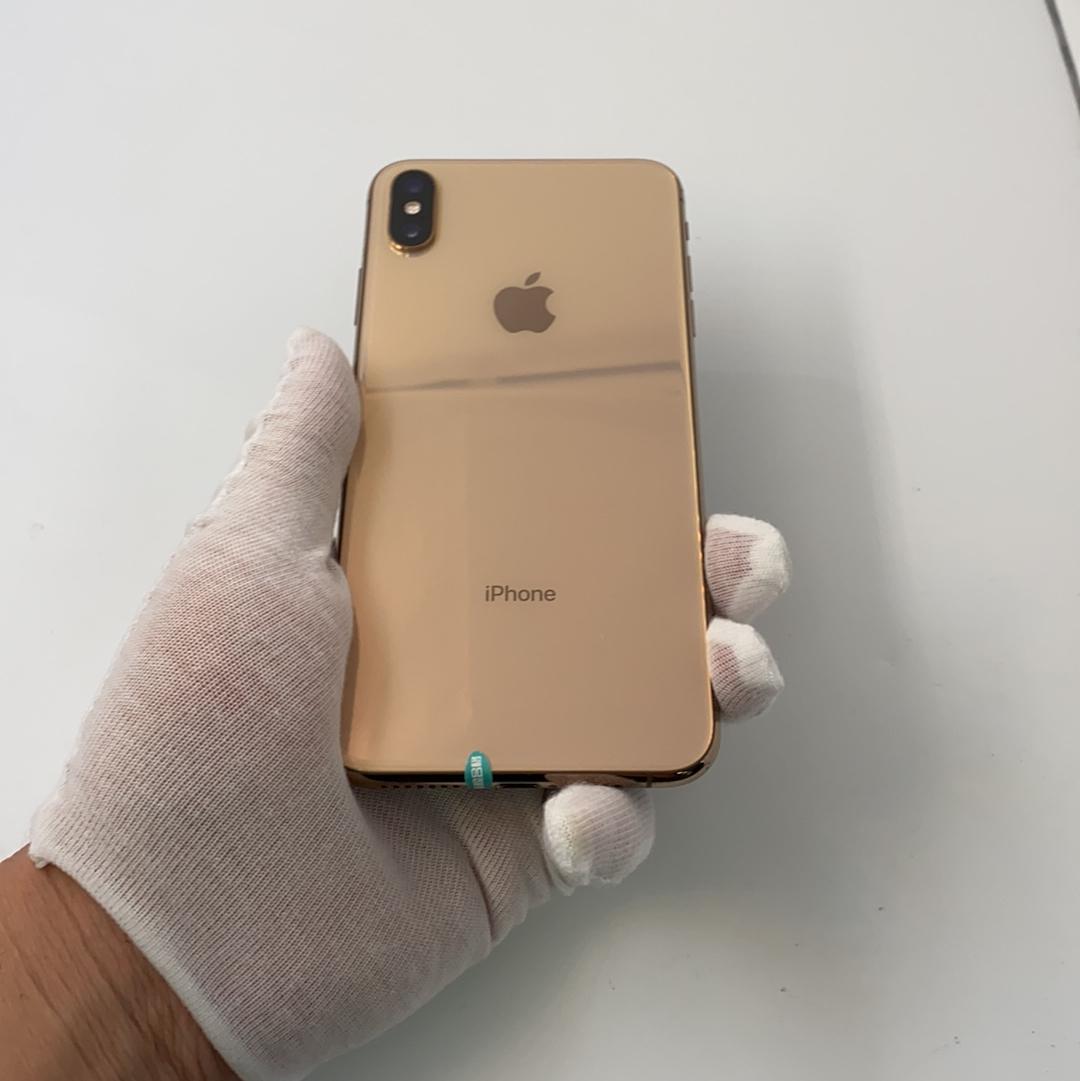 苹果【iPhone Xs Max】4G全网通 金色 64G 国行 8成新