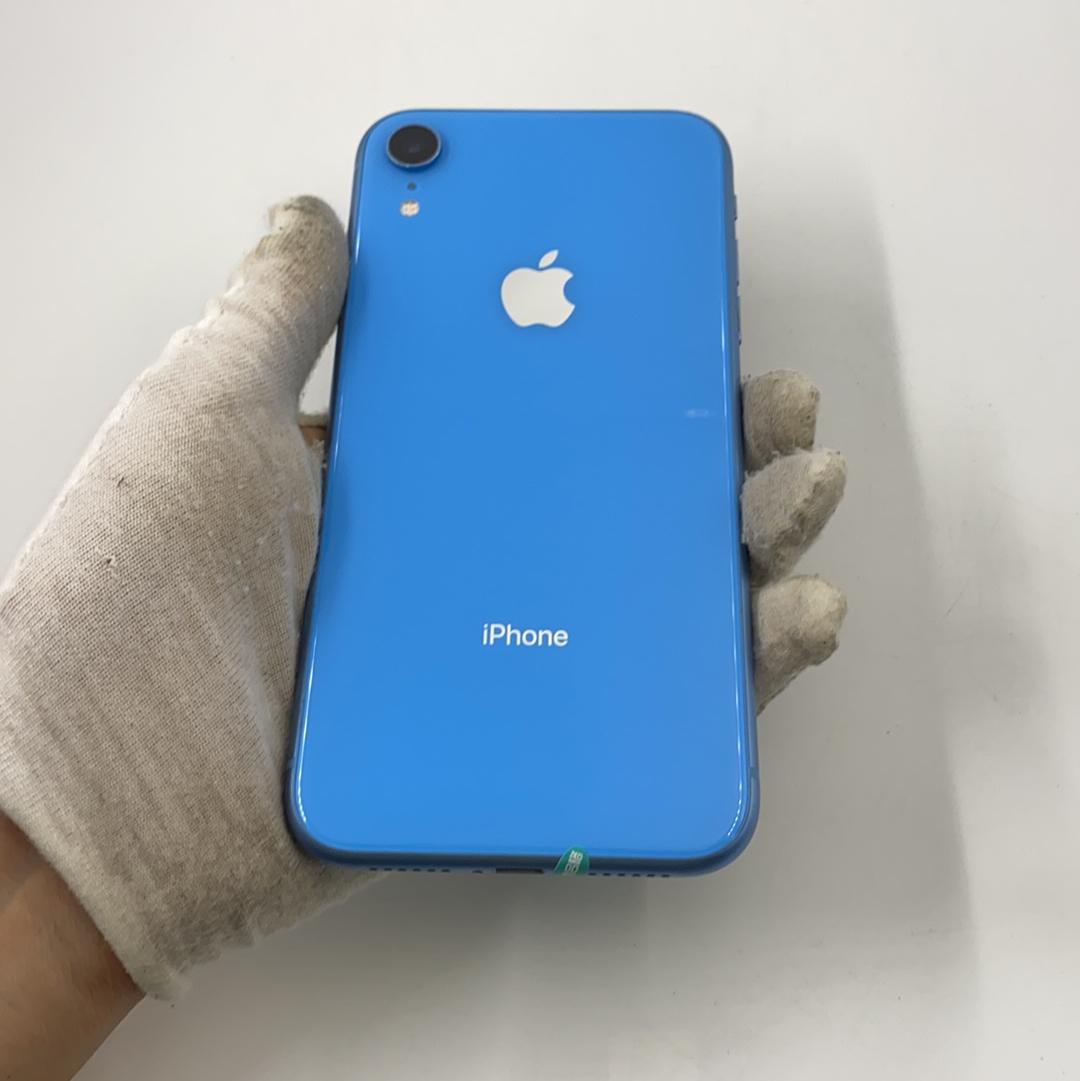 苹果【iPhone XR】4G全网通 蓝色 64G 国行 99新