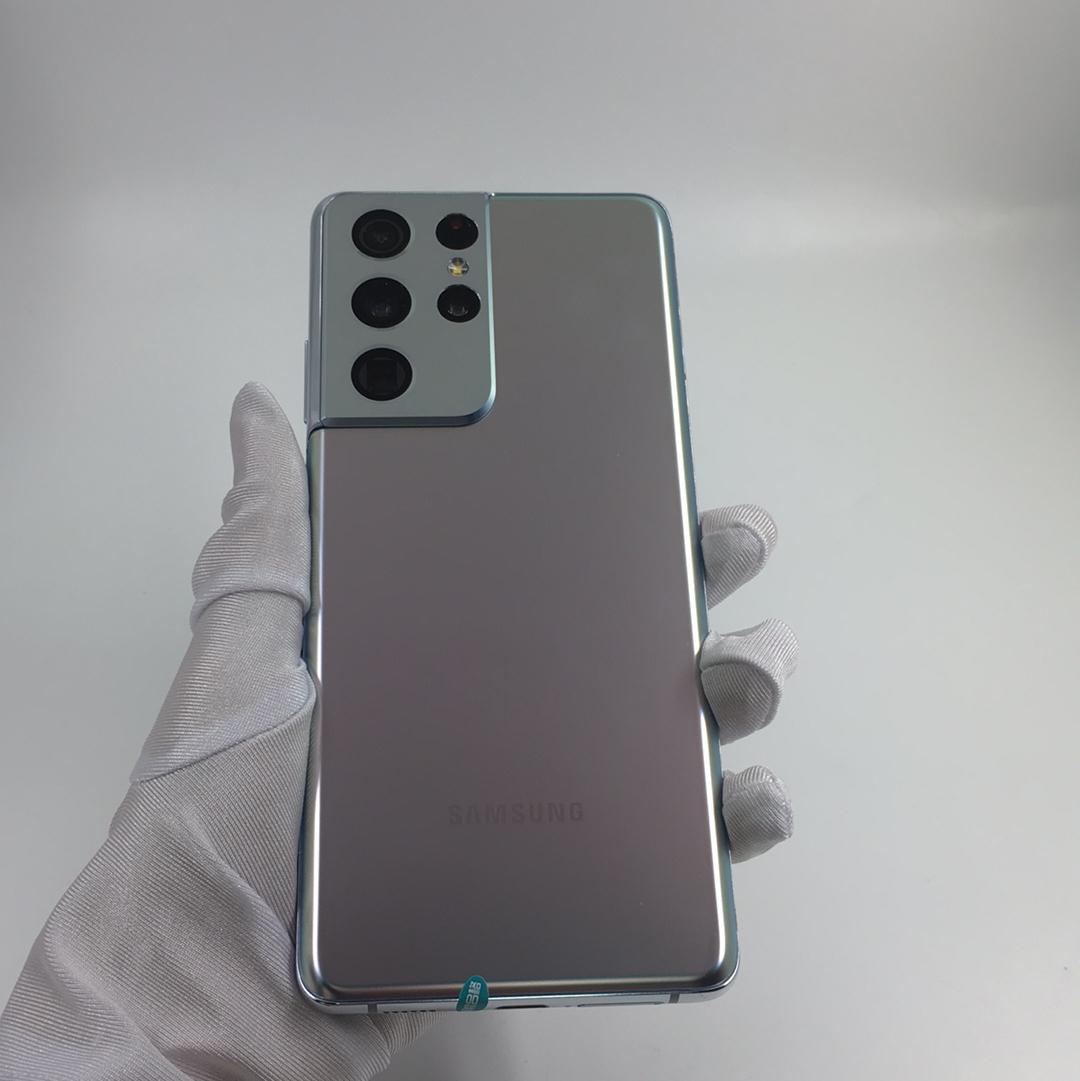 三星【Galaxy S21 Ultra 5G】5G全网通 幻境银 12G/256G 国行 99新 12G/256G真机实拍