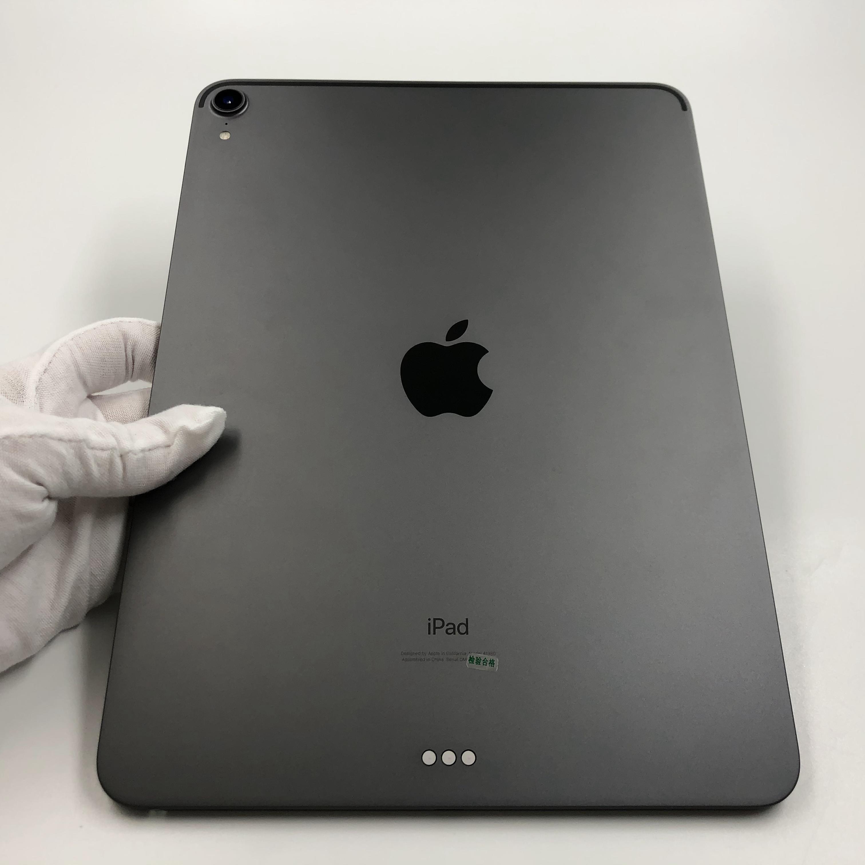 苹果【iPad Pro 11英寸 18款】WIFI版 深空灰 64G 国际版 9成新 真机实拍