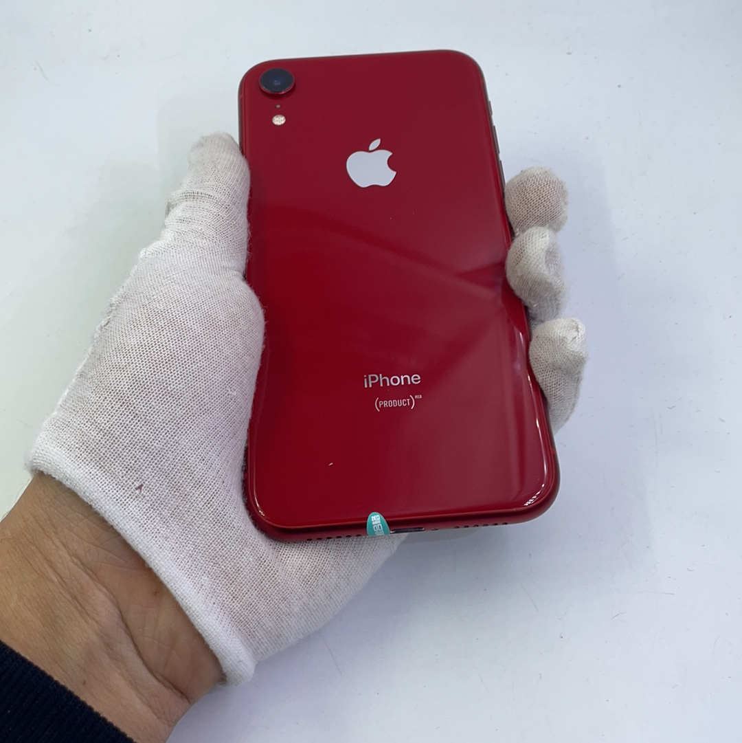 苹果【iPhone XR】4G全网通 红色 256G 国行 8成新
