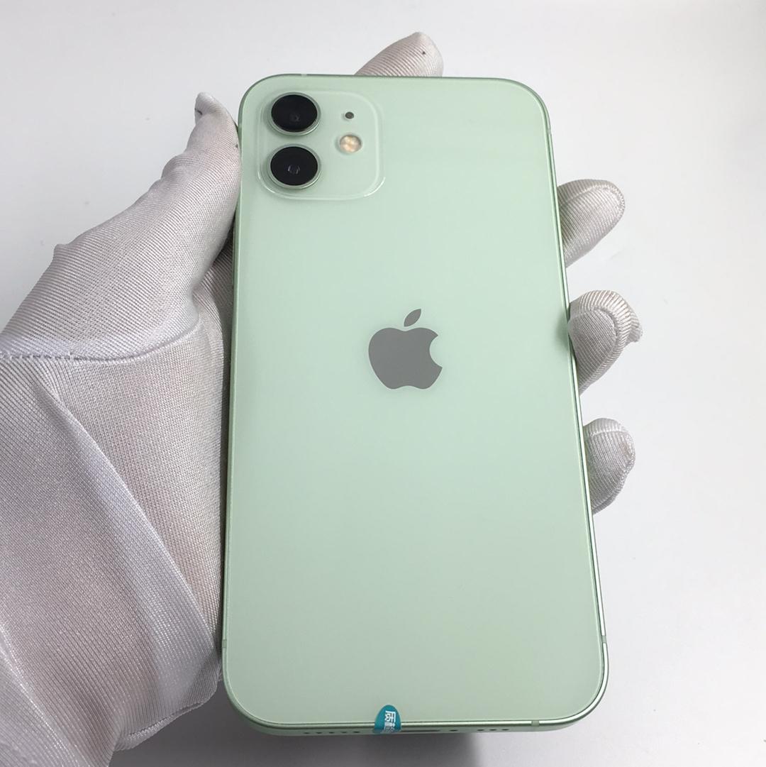 苹果【iPhone 12】5G全网通 绿色 64G 国行 99新 64G真机实拍