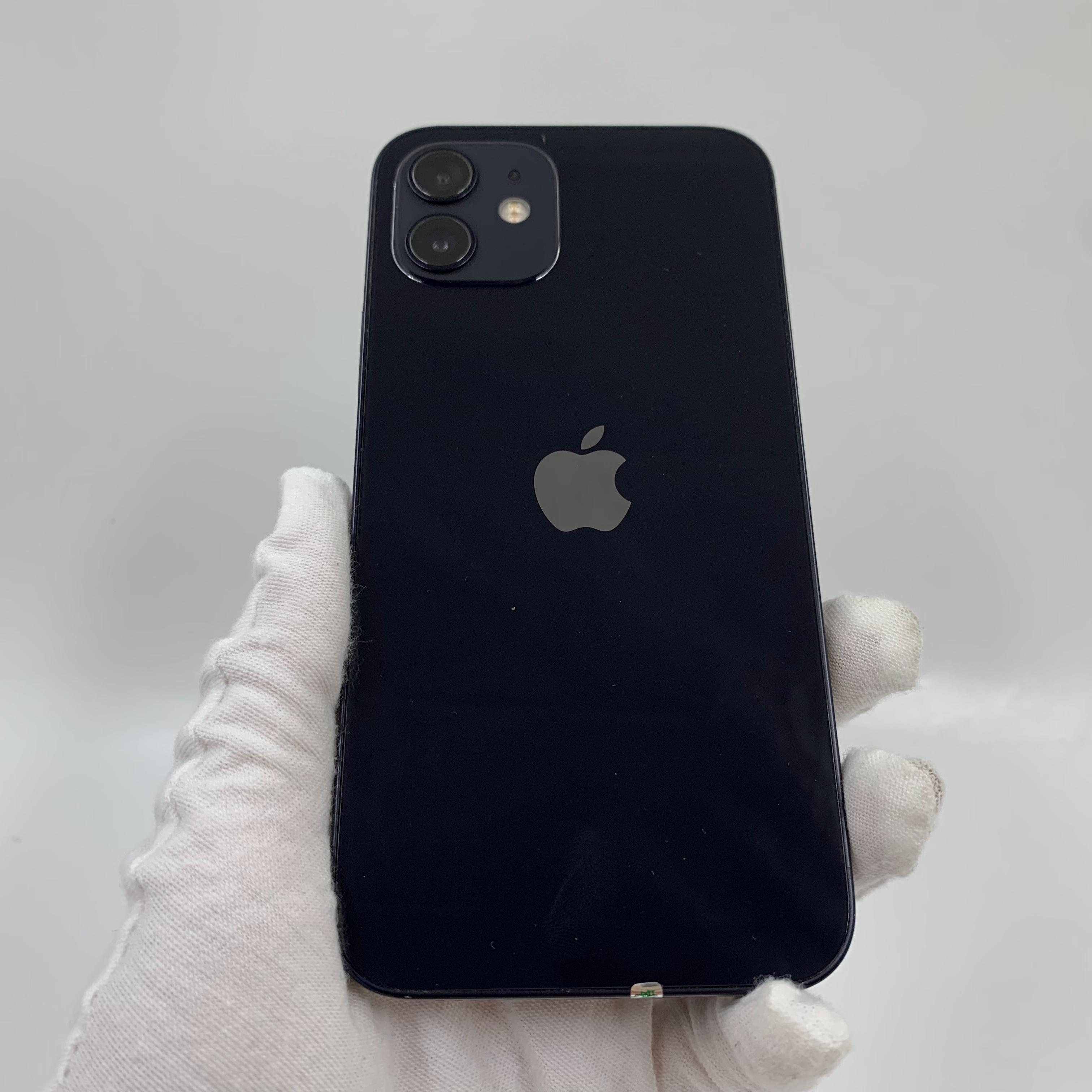 苹果【iPhone 12】5G全网通 黑色 64G 国行 9成新 真机实拍