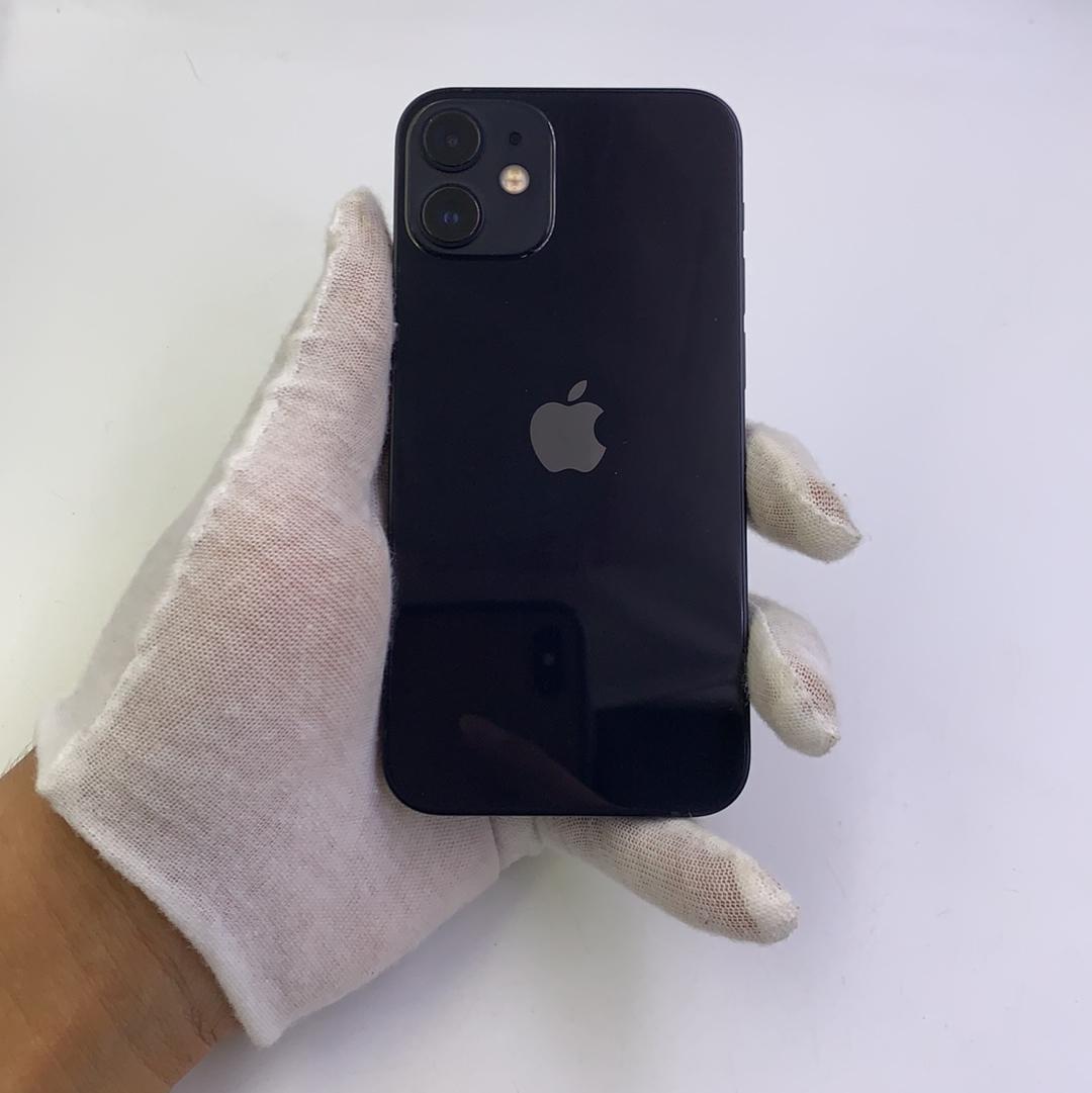 苹果【iPhone 12 mini】5G全网通 黑色 128G 国行 95新