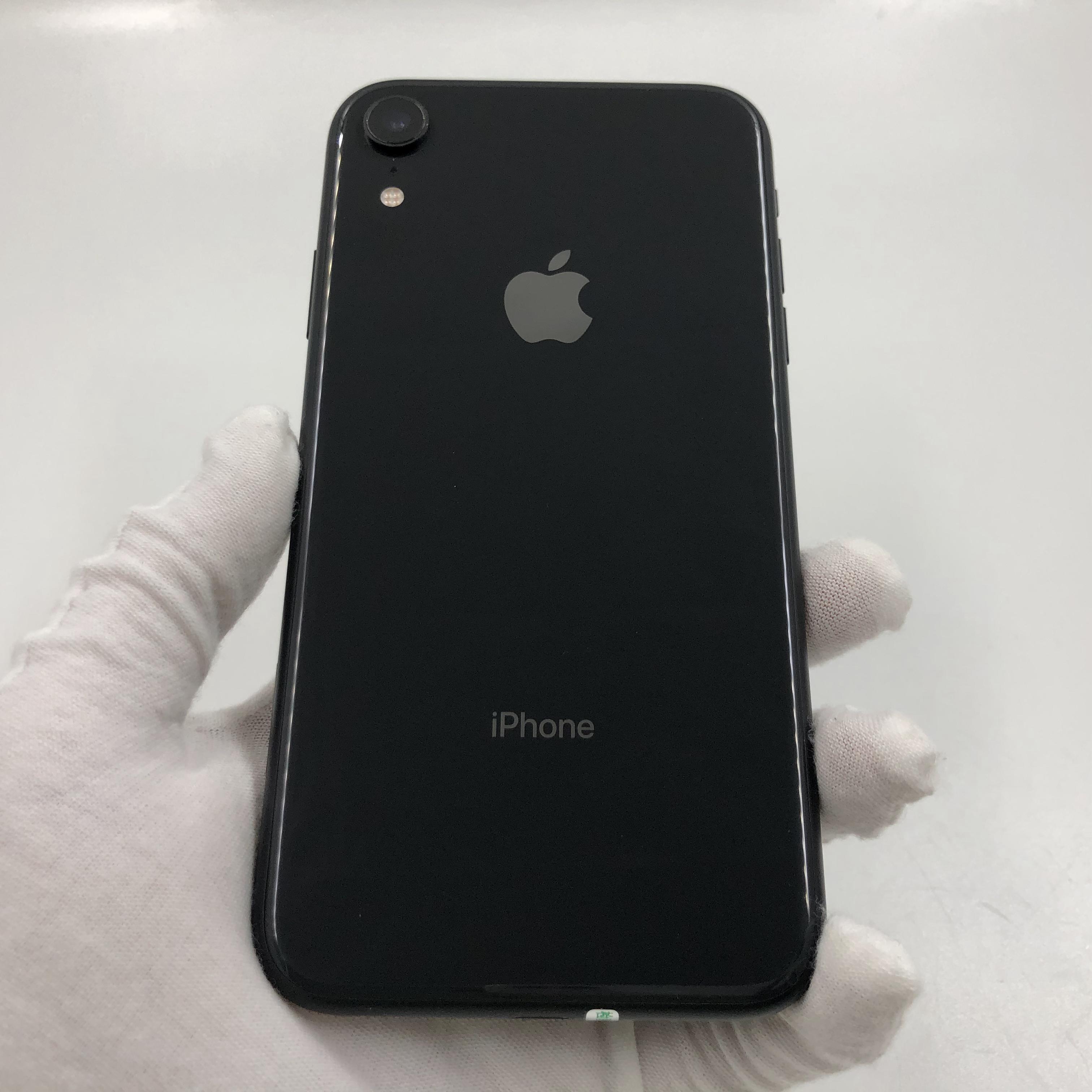 苹果【iPhone XR】4G全网通 黑色 256G 国行 95新 真机实拍