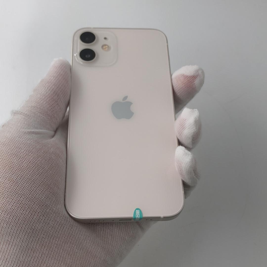 苹果【iPhone 12 mini】5G全网通 白色 128G 国行 8成新