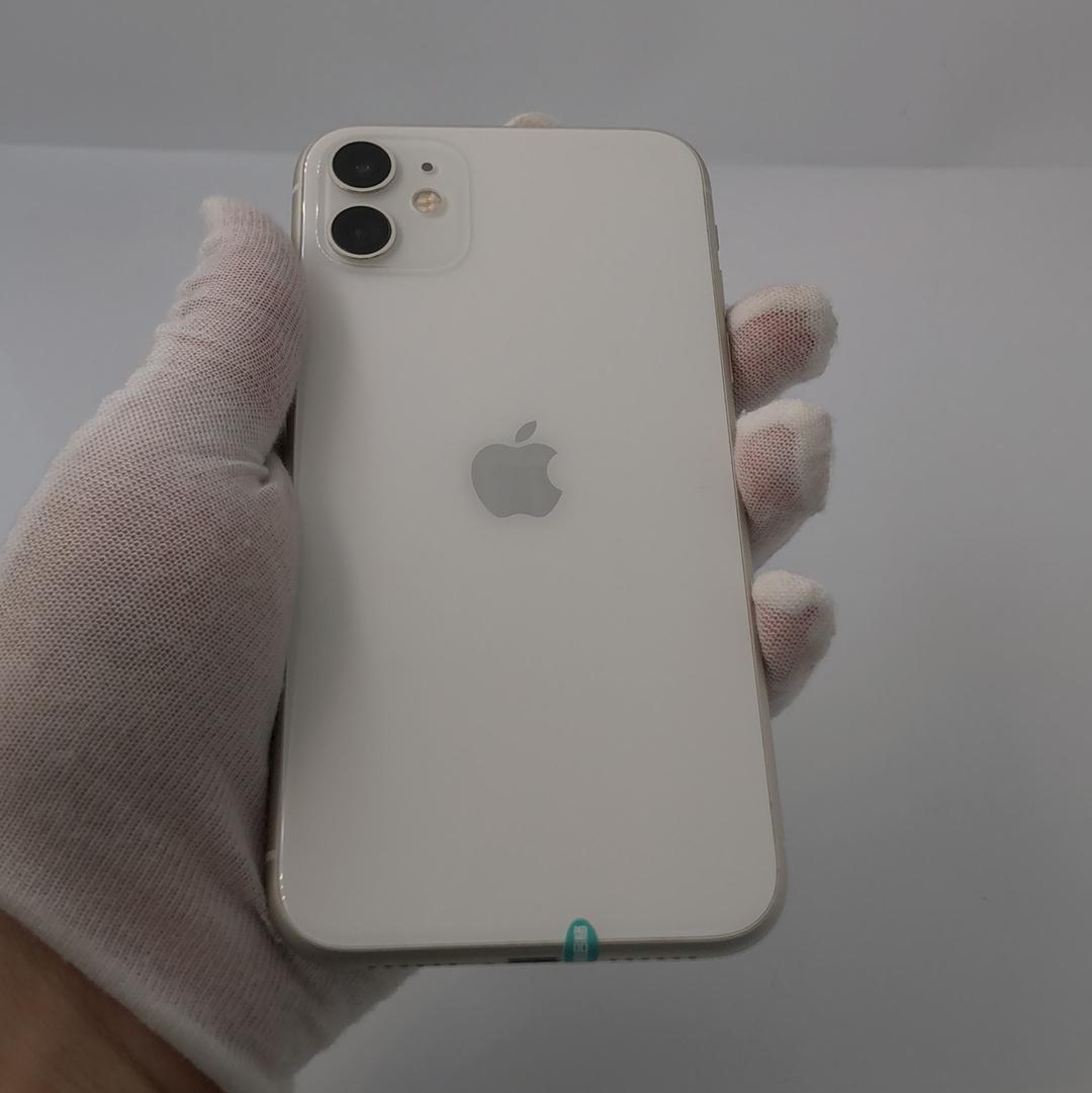 苹果【iPhone 11】4G全网通 白色 256G 国行 99新